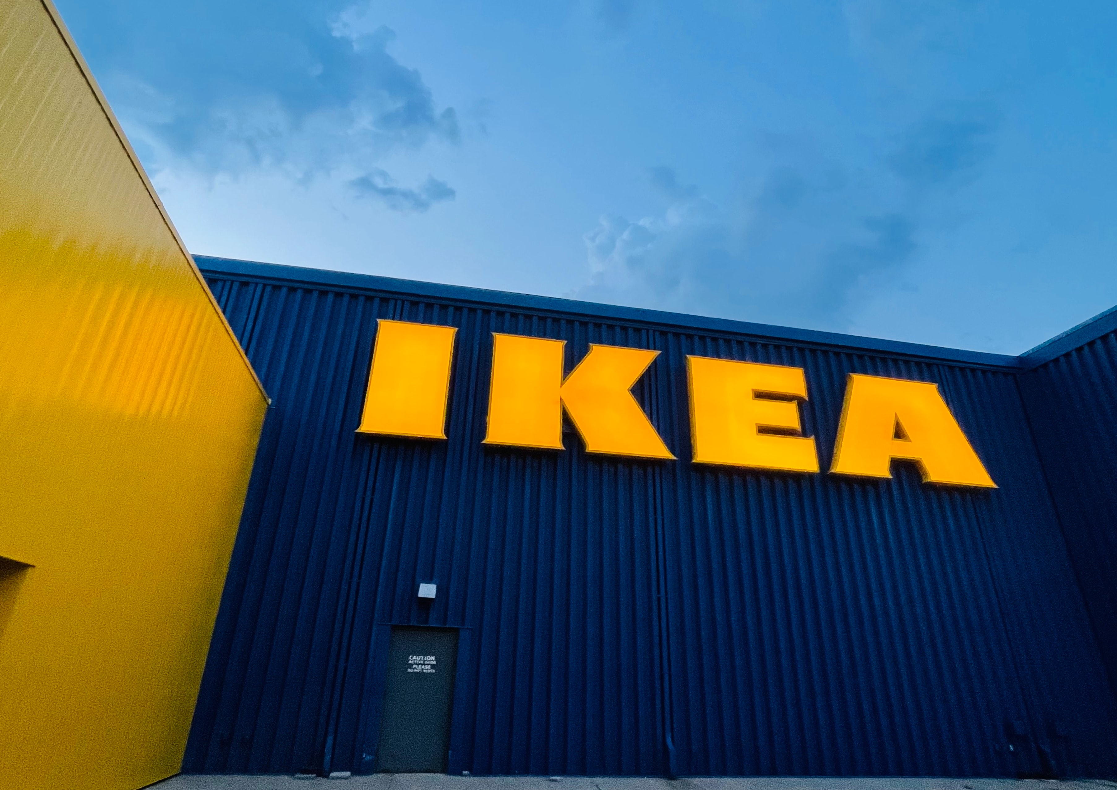 Significant IKEA's online sales growth.